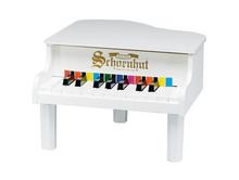 White Mini Grand Toy Piano