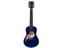 Blue Flames Toy Guitar